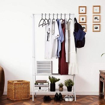 perchero para guardar ropa
